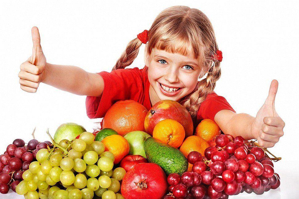 Здравословното хранене е важно за децата. - голяма снимка